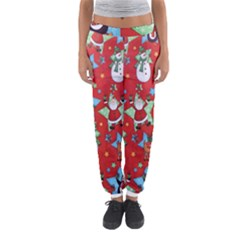Xmas Santa Clause Women s Jogger Sweatpants by Jojostore