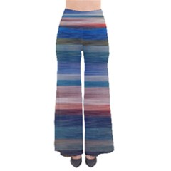 Background Horizontal Lines Pants