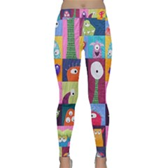 Monster Quilt Classic Yoga Leggings