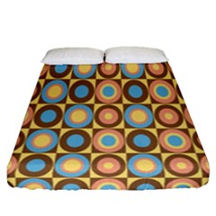 Round Color Fitted Sheet (queen Size)
