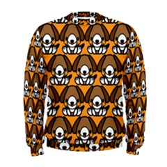 Sitbeagle Dog Orange Men s Sweatshirt