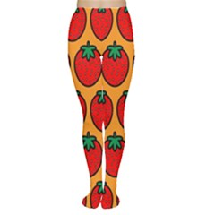 Strawberry Orange Women s Tights
