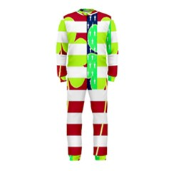 Usa Ireland American Flag Shamrock Irish Funny St Patrick Country Flag  Onepiece Jumpsuit (kids)