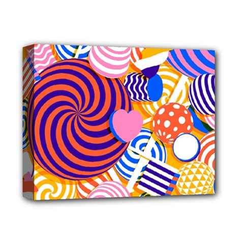 Canddy Color Deluxe Canvas 14  X 11  by Jojostore