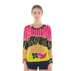 Clowntown Women s Long Sleeve Tee by Jojostore