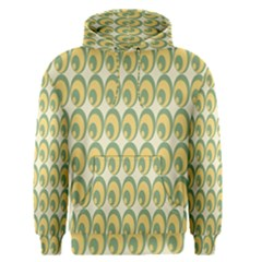Pattern Circle Green Yellow Men s Pullover Hoodie