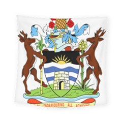Coat Of Arms Of Antigua And Barbuda Square Tapestry (small) by abbeyz71