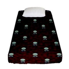 Bloody Cute Zombie Fitted Sheet (single Size) by Jojostore