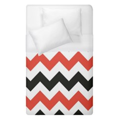 Colored Chevron Printable Duvet Cover (single Size) by Jojostore