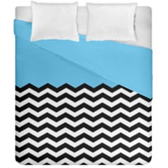 Color Block Jpeg Duvet Cover Double Side (california King Size) by Jojostore