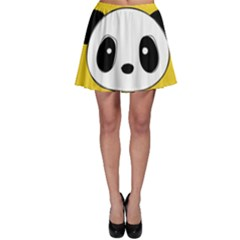 Face Panda Cute Skater Skirt