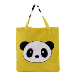 Face Panda Cute Grocery Tote Bag