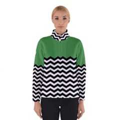 Lime Green Chevron Winterwear
