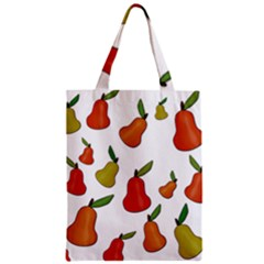 Decorative Pears Pattern Zipper Classic Tote Bag by Valentinaart