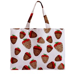 Chocolate Strawberries  Zipper Mini Tote Bag by Valentinaart