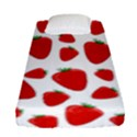 Decorative strawberries pattern Fitted Sheet (Single Size) View1