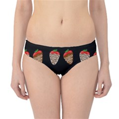 Chocolate Strawberies Hipster Bikini Bottoms