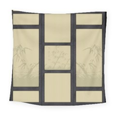 Tatami - Bamboo Square Tapestry (large) by Tatami
