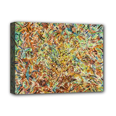 Art Modern Painting Acrylic Canvas Deluxe Canvas 16  X 12   by Amaryn4rt