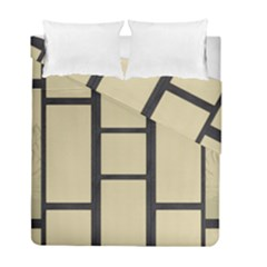 Tatami Duvet Cover Double Side (full/ Double Size) by Tatami