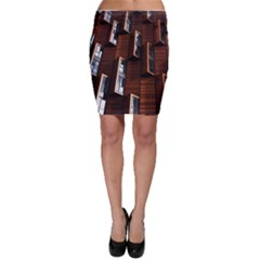 Abstract Architecture Building Business Bodycon Skirt