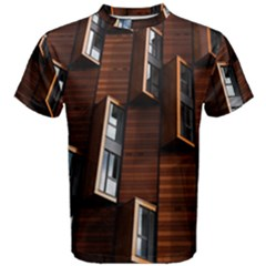Abstract Architecture Building Business Men s Cotton Tee