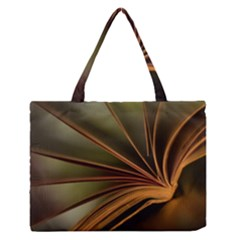 Book Screen Climate Mood Range Medium Zipper Tote Bag