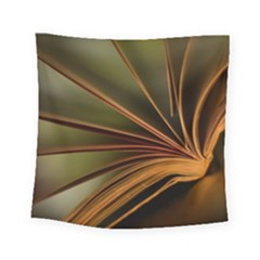 Book Screen Climate Mood Range Square Tapestry (small)