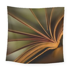 Book Screen Climate Mood Range Square Tapestry (large)