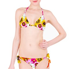 Flowers Blossom Bloom Nature Plant Bikini Set by Amaryn4rt