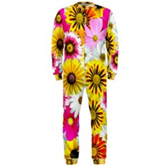 Flowers Blossom Bloom Nature Plant Onepiece Jumpsuit (men)  by Amaryn4rt
