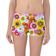 Flowers Blossom Bloom Nature Plant Reversible Bikini Bottoms by Amaryn4rt