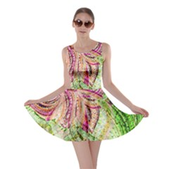Colorful Design Acrylic Skater Dress by Amaryn4rt
