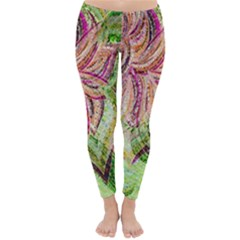 Colorful Design Acrylic Classic Winter Leggings by Amaryn4rt