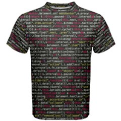 Full Frame Shot Of Abstract Pattern Men s Cotton Tee
