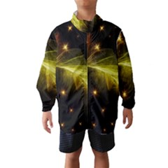 Particles Vibration Line Wave Wind Breaker (kids) by Amaryn4rt