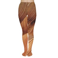 Sandstone The Wave Rock Nature Red Sand Women s Tights