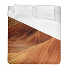 Sandstone The Wave Rock Nature Red Sand Duvet Cover (full/ Double Size)