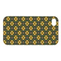 Arabesque Flower Yellow Apple iPhone 4/4S Hardshell Case View1