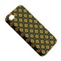 Arabesque Flower Yellow Apple iPhone 4/4S Hardshell Case View5