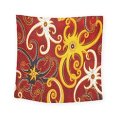 Batik Jogja Java Square Tapestry (small)