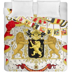 Great Coat Of Arms Of Belgium Duvet Cover Double Side (king Size)