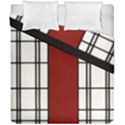 SHOJI - RED Duvet Cover Double Side (California King Size) View1