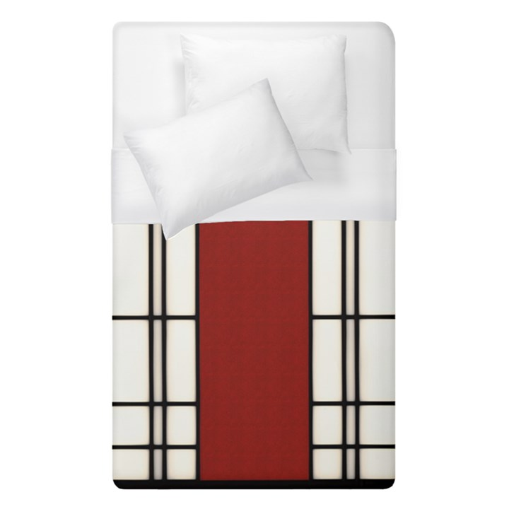 SHOJI - RED Duvet Cover (Single Size)
