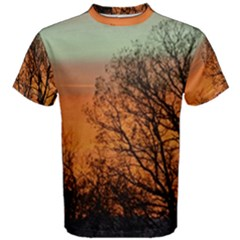 Twilight Sunset Sky Evening Clouds Men s Cotton Tee