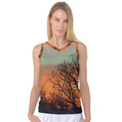 Twilight Sunset Sky Evening Clouds Women s Basketball Tank Top