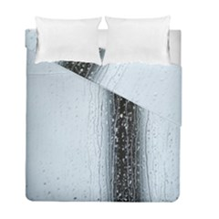 Rain Raindrop Drop Of Water Drip Duvet Cover Double Side (full/ Double Size) by Amaryn4rt