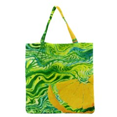 Zitro Abstract Sour Texture Food Grocery Tote Bag by Amaryn4rt