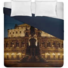 Dresden Semper Opera House Duvet Cover Double Side (king Size)