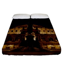 Dresden Semper Opera House Fitted Sheet (california King Size)